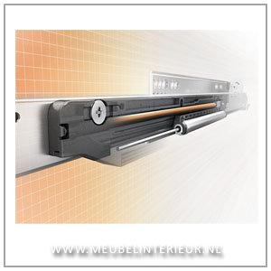 Blum MOVENTO ladegeleider 250 mm 40 kg