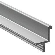 Greeplijst, aluminium